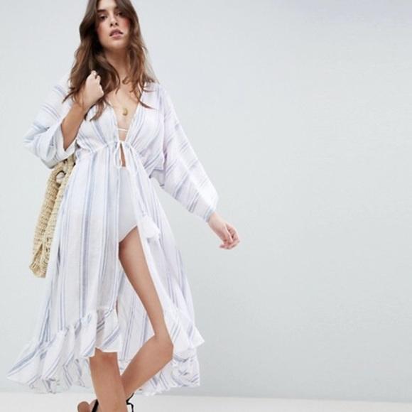 a0d499932 ASOS Swim | Maxi Cover Up Dress | Poshmark